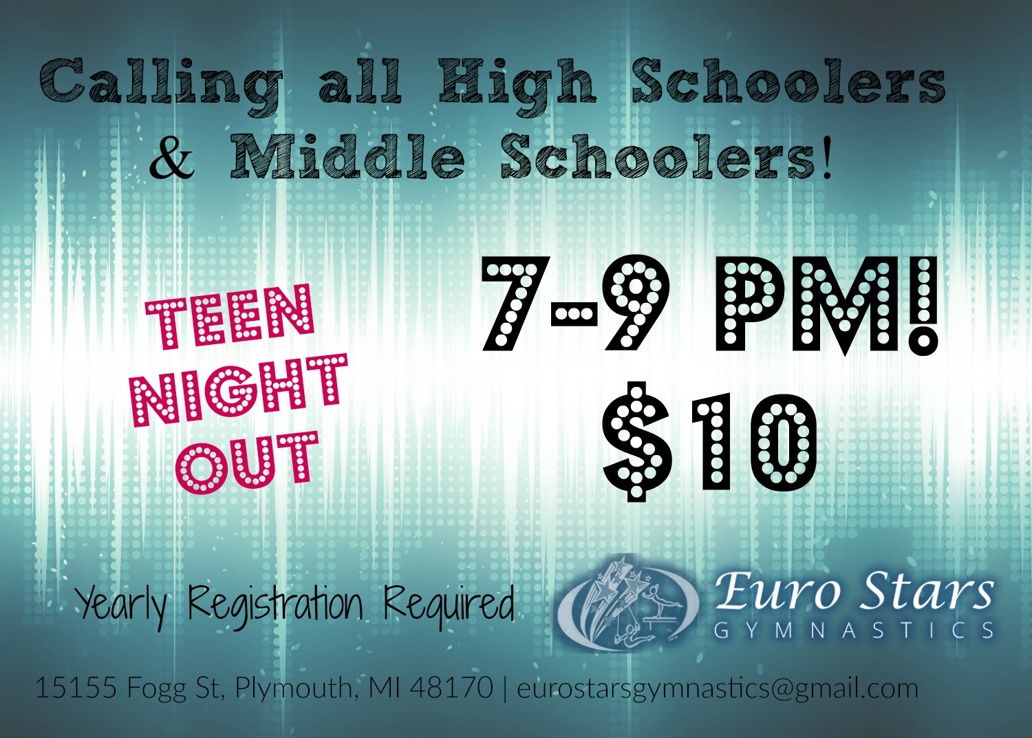 Teen Night Out in Plymouth MI
